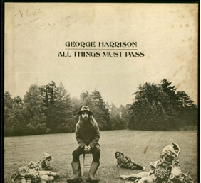 GEORGE HARRISON 「ALL THINGS MUST PASS」LP サイン