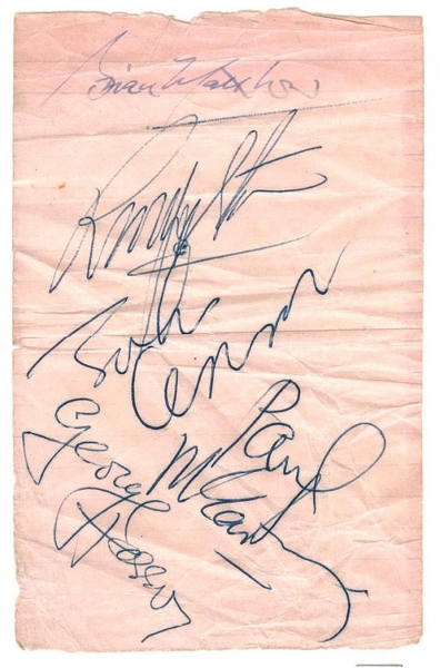 sign beatles.looseleaf