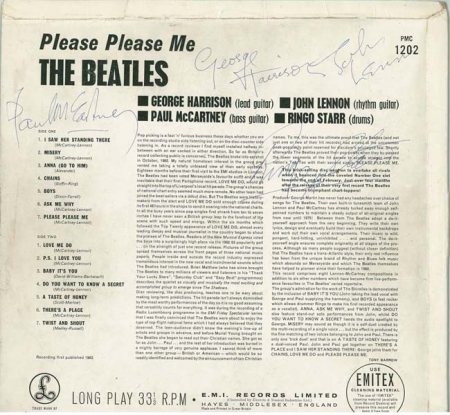 sign beatles ppm