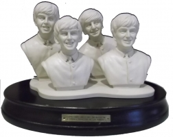 el beatles.sculpture