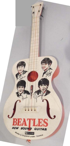 BEATLES guitar toy .newsound
