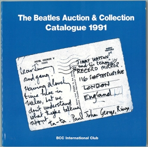 nb thebeatlesauctioncatalogue1991