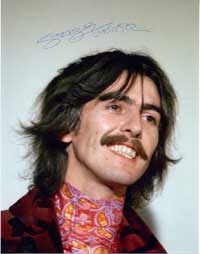 George Harrison Autographs
