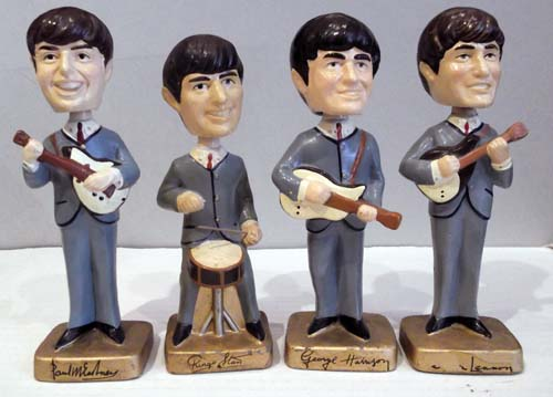 beatles bobbinhead.dolls