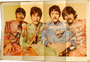 BEATLES fanclub POSTER